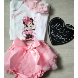 conjunto minnie rosa