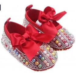 Zapatos perlas bebe