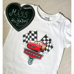 Camiseta cumple cars