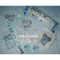 Cojin antivuelco Corona azul