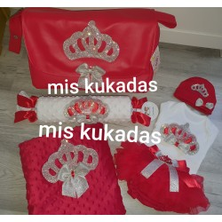 Pack corona rojo