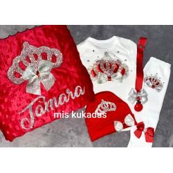 Pack coronas rojo