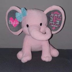 Peluche elefante natalicio
